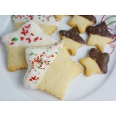 Shortbread cookies. Versatile, simple, and delicious! Follow the recipe exactly. Can be split in half.