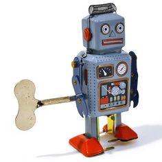 Robot del espacio - Juguetes de hojalata y a cuerda - Fantastik
