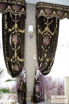 Essential steps to elegant luxury european style curtains 16 – fugar.