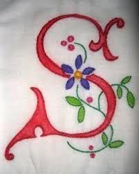 Resultado de imagen para embroidery S