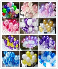 50pcs/lot 10inch 1.5g Black Pearl Latex Balloons Air Balls Inflatable Wedding Birthday Party Decoration Supplies Kids Toy globos  Price: 2.43 USD