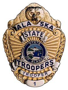 Alaska State Police Badge