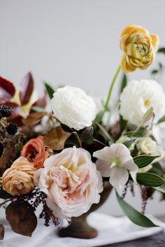 a romantic floral tu