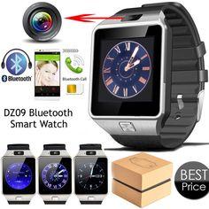 Smart Watch Digital DZ09 U8 Wrist with Men Bluetooth Electronics SIM Card Sport Smartwatch camera For iPhone Android Phone Wach #Affiliate
