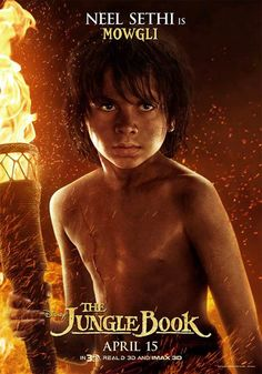 """The Jungle Book Movie Poster Absolutely """"Magical"""". My 6 yr. old who doesn't sit still loved this movie.  I loved it too. Wonderful family movie."""