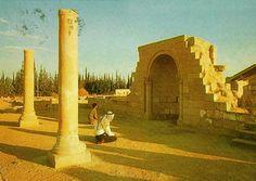 Jericho-أريحا: Ruins of Hisham bin AbdulMalek Palace E
