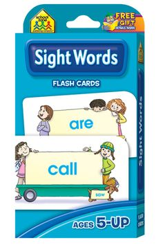 Flash Cards-Beginning Sight Words 110/Pkg...$3.49@joann fabric....good to get for BROOKE and BAILEE