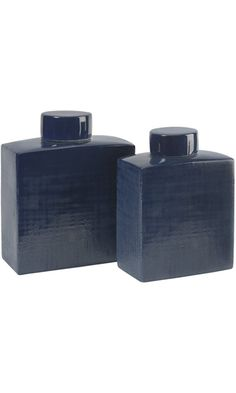 IMAX 30513-2 Wilfred Ceramic Canisters, Set of 2 Best Price