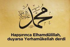 Hapşırınca Elhamdülillah, duyarsa Yerhamükellah derdi.   #islam #peygamberimiz #HzMuhammed