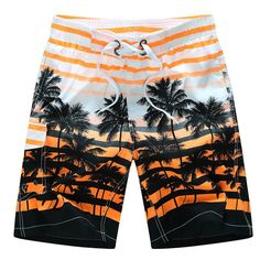 Whale and Golden Stars Mens Funny Swim Trunks Quick Dry Summer Surf Beach Board Shorts with Mesh Lining//Side Pockets