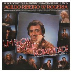 #AgildoRibeiro e #Rogéria – Um #Show em alta #Rotatividade - #vinil #vinilrecords #temas