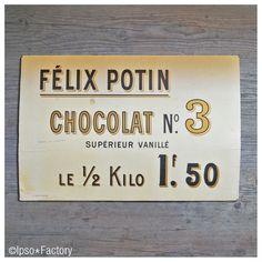Ipso Factory — Grand Carton Publicitaire Félix Potin