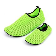 ECSEO Unisex ParentChild Water Shoes Aqua Socks for Beach Swimming Walking SportsFitness Breathable Casual FlatsChildrens Size LGreen ** You can find more details by visiting the image link. (This is an affiliate link)