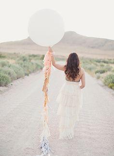 Utah Wedding by Alixann Loosle.  I want a big balloon on my wedding day!