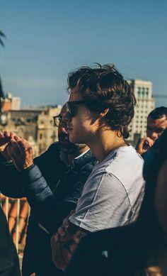 Harry in Barcelona