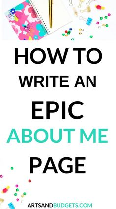 Dec 2017 - If you are looking to write or even tighten up your current About Page this post shares 5 tips on how to create an epic About Me page on your website. Wordpress, Blog Writing, Writing Tips, About Me Page, About Me Blog, Tumblr, Make Money Blogging, Blogging Ideas, Earn Money