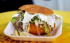Mexican sandwiches pelona