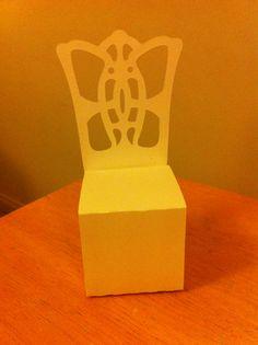 Wedding Chair Favour