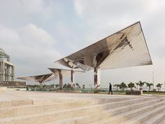 Costa Lopes Arq. The Currency Museum in Luanda, Angola. Photograph by Fabrice Fouillet