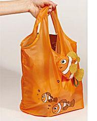 Fold Up Fish Shopping Bags Set of 3