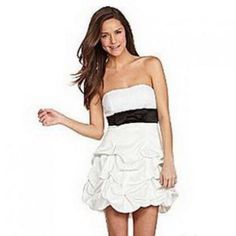 Brand New White Ruby Rox Homecoming Or Prom Dress