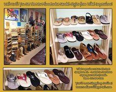They call It Moccasin And Sandal City Inside Tribal Impressions! Shop online off of: http://www.indianvillagemall.com/mocs/sandals.html