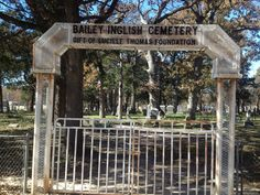I live on the other side if this!!!! English Cemetery , Bonham Tx.