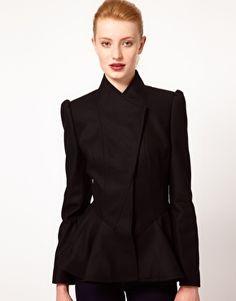 $368   Ted Baker Short Coat with Peplum