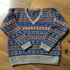 Knitting Ideas, Knitting Patterns, Fair Isles, Fair Isle Knitting, Color Combinations, Fall Winter, Men Sweater, Wool, Children
