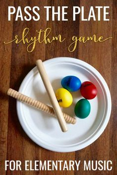 """Such a fun game idea for elementary music students! Includes ideas for extra rhythm challenges and free composition worksheet to add to the lesson plan."""""""