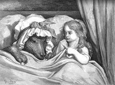 Gustave Dorè - Cappuccetto Rosso