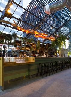 The word is out on Roy Choi's rooftop greenhouse restaurant Commissary...  http://www.we-heart.com/2015/04/01/commissary-los-angeles-line-hotel/