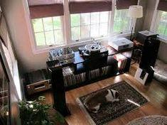 Image result for furniture for turntable vinyl room