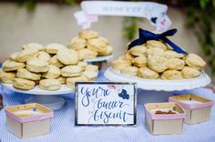 A biscuit bar! Too cute! Southern Sweet As Pie Themed Baby Shower via Kara's Party Ideas KarasPartyIdeas.com The Place for All Things Party! #southernparty #southernbabyshower #sweetaspiebabyshower #southernpartyideas #genderneutralbabyshower (8)