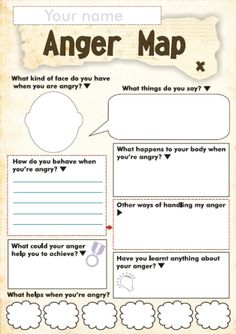 Anger Management Worksheet For Children - Free Anger And Feelings Worksheets For Kids Therapy Worksheets Anger Worksheets For Kids And Teens How Anger Feels Anger Management Worksheet Anger Ma. Therapy Worksheets, Worksheets For Kids, Therapy Activities, Play Therapy, Therapy Tools, Printable Worksheets, Speech Therapy, Free Printable, Printables