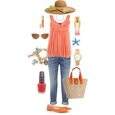 Summer Fashion - maybe minus the hat :)