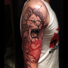 Victor Montaghini is a Brazilian tattoo artist