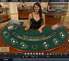 Mobile view of web casinos for blackjack on http://blackjackcardcounting.net/mobile/