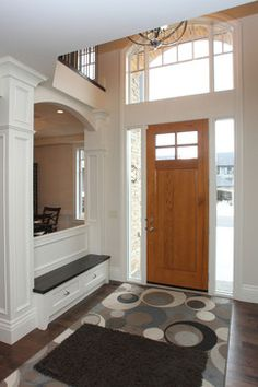 Contemporary Home colums Design Ideas, Pictures, Remodel and Decor