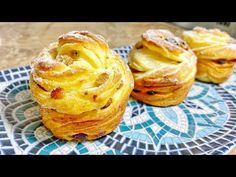 Pastry And Bakery, Sweets Recipes, Donuts, Good Food, Breakfast, Pastries, Cupcakes, Videos, Frost Donuts