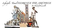 Lifestyle- Travel FLORENCE THE ART PIECE  FIND MORE AT TRAVEL SECTION  ENCUENTRA MAS EN LA SECCION TRAVEL #travel #florence #europe #plan #italy #ideas