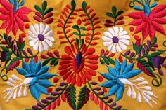 Mexican Floral Embroidery Designs  Galleryhip  The
