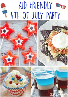 Kid Friendly 4th of July Party Ideas