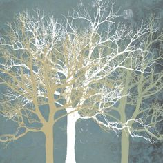 Tranquil Trees Kunstdruk