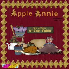 Apple Annie was made with Thanksgiving in mind but would work well with any of your prim pages. Download your freebie at http://ditzbitz.weebly.com/store/p559/Apple_Annie.html