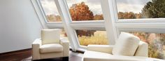 By combining vertical and pitched windows, you can create a stunning feature to enjoy every season of the year.