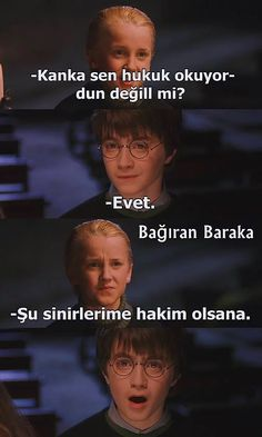 Hogwarts'dan Treniyle Gelmiş 26 Komik Harry Potter Caps'i 26 Funny Harry Potter Caps Arrived by Hogwarts on Train Harry Potter Humor, Harry Potter Comics, Hery Potter, Harry Potter Cast, Hogwarts, Ron Weasly, Tumblr Funny, Funny Memes, Funny Animal Quotes