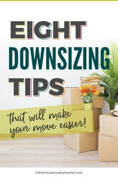 I remember searching for downsizing tips before we moved to a small home.I was completely overwhelmed with decluttering and the idea that I was somehow demeaning myself because I was moving to a smaller space – crazy, right? Small House Decorating, Small House Design, Downsizing Tips, Moving Tips, Moving Hacks, Layout, Declutter Your Home, Moving House, House Cleaning Tips