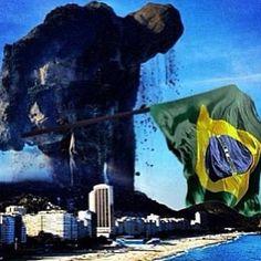 O Gigante acordou... Keep walking, Brazil!