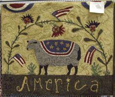 Americana Sheep ~ design by Lori Brechlin (www.spruceridgestudios.com)